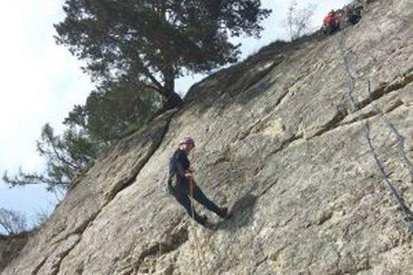 Horolezci chodievajú do Sučian veľmi radi.