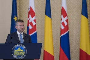 Slovenský premiér Peter Pellegrini na návšteve Rumunska.