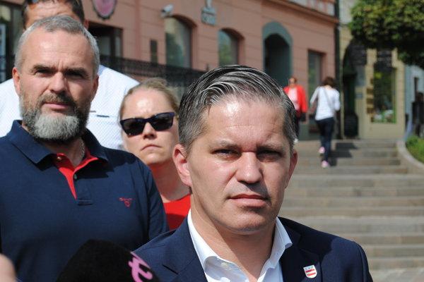 Miroslav Benko, kandidát na primátora mesta Prešov.