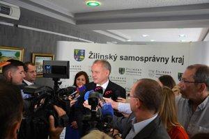 Andrej Kiska odpovedal na viaceré otázky novinárov.