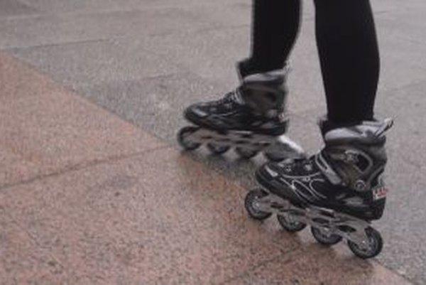Svetielkujúce korčule už zaujali aj za hranicami Slovenska.