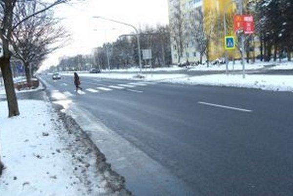 Na oko pokojná cesta v širšom centre mesta je najnehodovejším úsekom v širokom okolí.