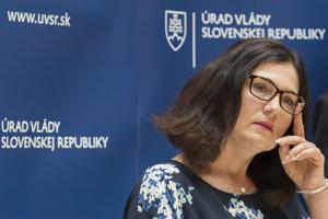 Ministerka školstva Lubyová.