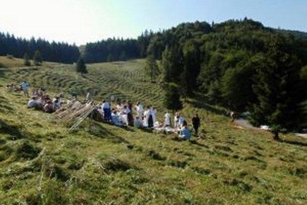 Nolčovská kosa - podujatie, aké nemá v Turci páru.