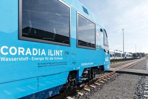 Vodíkový vlak Alstom Coradia iLint.
