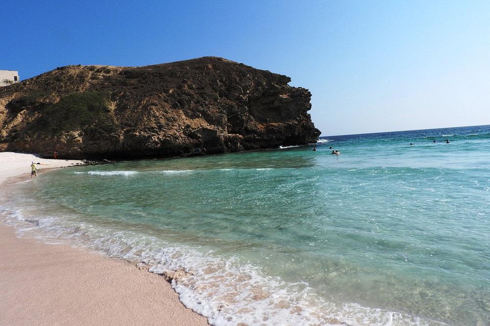 Pláž v Ománe.