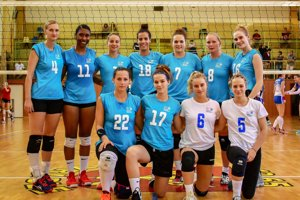 Novozložený tím Volley project UKF Nitra.