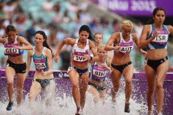 V Baku reprezentovala Katarína Beľová slovenské farby vbehu na 3 000 m cez prekážky.