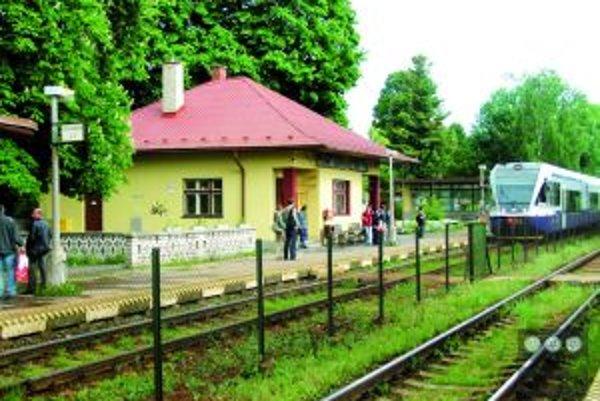 Železničná stanica v Turčianskych Tepliciach sa nemodernizovala vyše 40 rokov.
