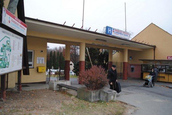 Levočská nemocnica.