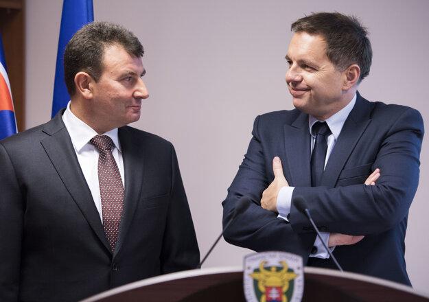František Imrecze s Petrom Kažimírom.