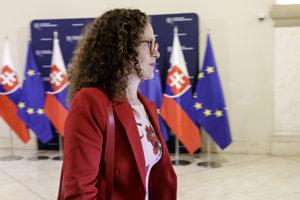 Šéfka parlamentnej delegácie Sophie in 't Veldová.