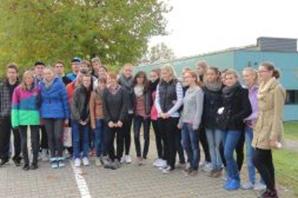 Gymnazisti zažili v Nemecku veľa nového.