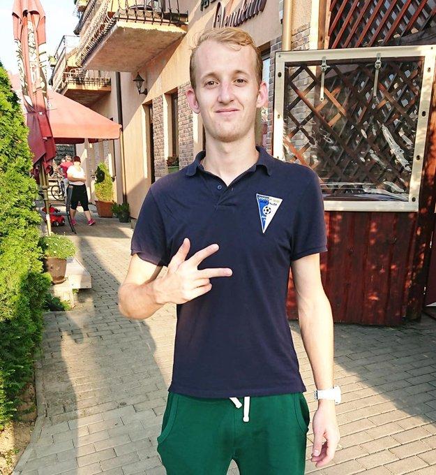 Michal Andrášik strelil všetky tri góly V. Zálužia, z toho dva z penált.