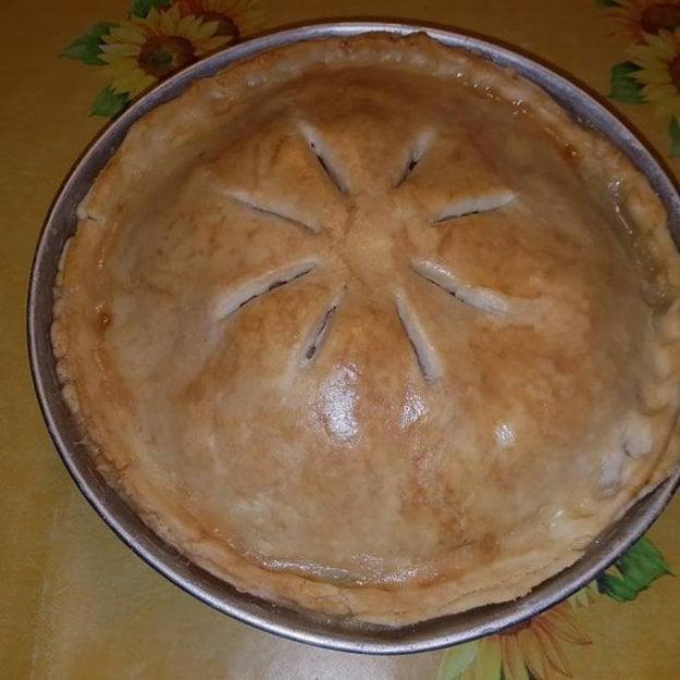 Jablkový koláč americkej babky