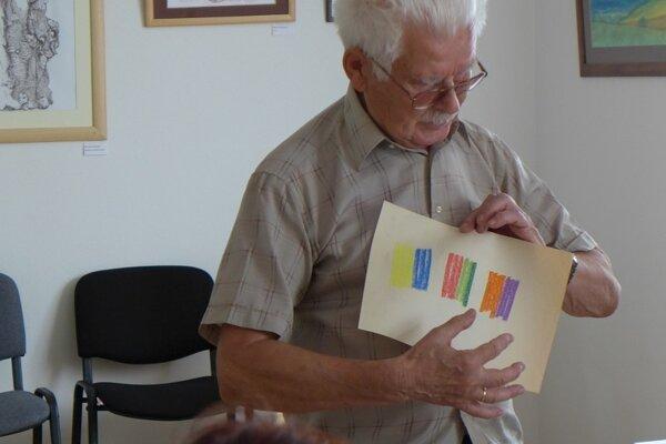 Výtvarníkom sa venoval aj Ján Prostredný.