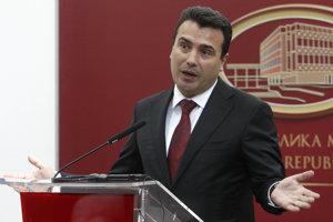 Severomacedónsky premiér Zoran Zaev.