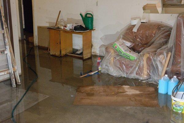 Poistiť sa dajú aj náklady na odstránenie škôd, napríklad vysušenie priestorov po záplave.