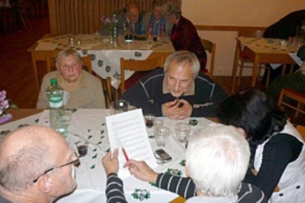 Zábava ponúkla aj tzv. súťaž stolov.
