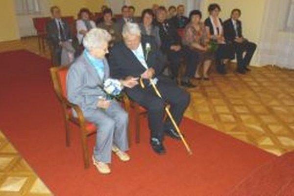 Diamantoví manželia Michal a Hedviga sú spolu už 60 rokov.