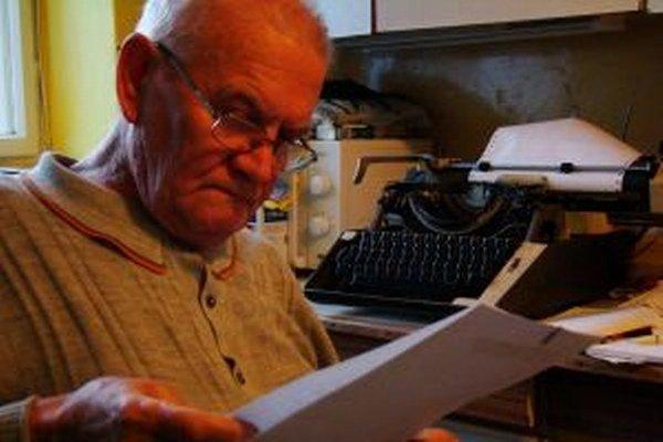 Ondrej Bosík sa rozhlasovému humoru venoval 25 rokov.