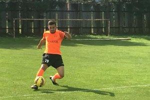 Michal Pach strelil úvodný gól Geče vdueli sTopoľanmi.