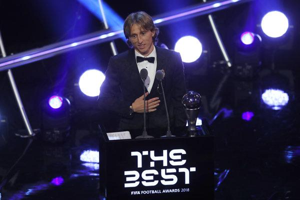 Luka Modrič sa stal Najlepším hráčom za rok 2018.