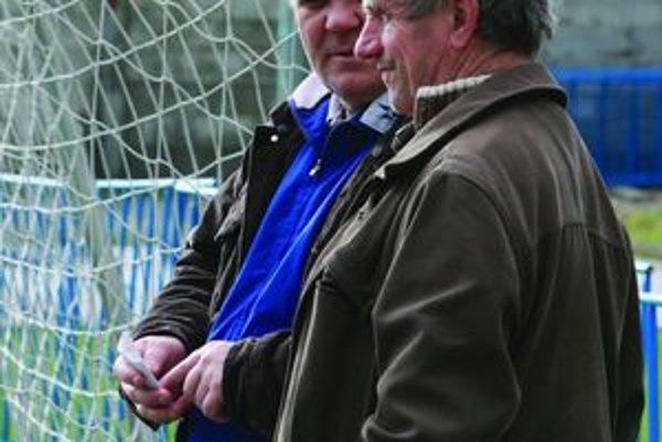 Viliam Kapusta (vpravo) a Milorad Ninič.