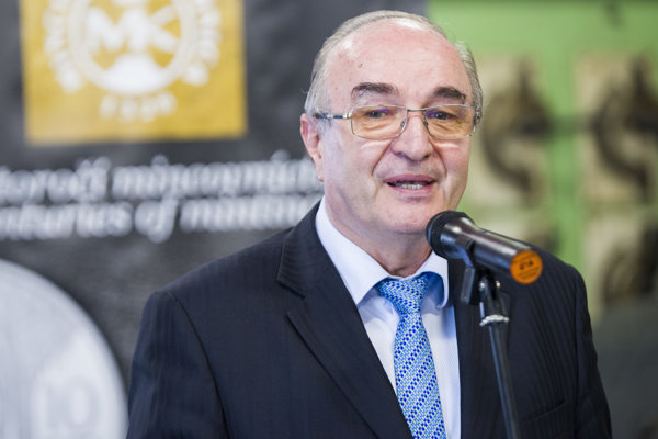 Guvernér Národnej banky Slovenska Jozef Makúch (NBS).