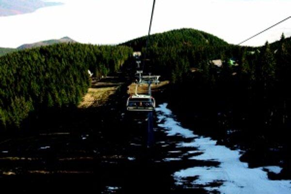 Lyžiarska sezóna je už ukončená. Na sneh bola veľmi skúpa.