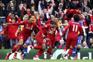 Futbalisti FC Liverpool majú skvelú formu.
