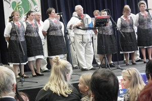 Na festivale sa predstavili aj folkloristi z okolitých obcí.