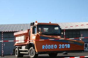 Rodeo - súťaž cestárov z kraja