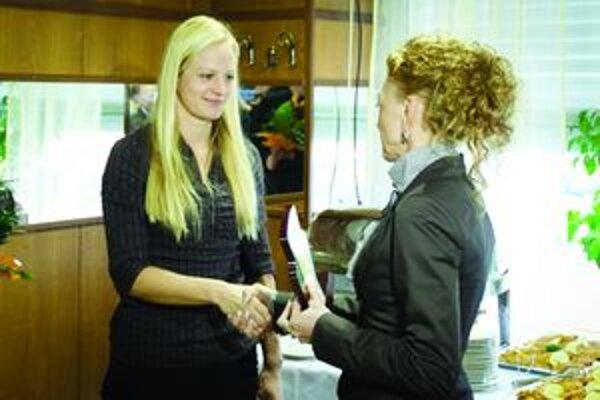 Kristína Lapinová si ocenenie pre najlepšiu triatlonistku Slovenska prevzala už po druhý raz.