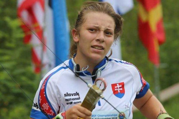 Zuzana Buksová pomohla tímu junioriek vybojovať bronz.