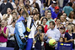 Japonský tenista Jošihito Nišioka.