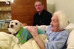 Mária Miková si výborne rozumie aj so psíkom Timym.