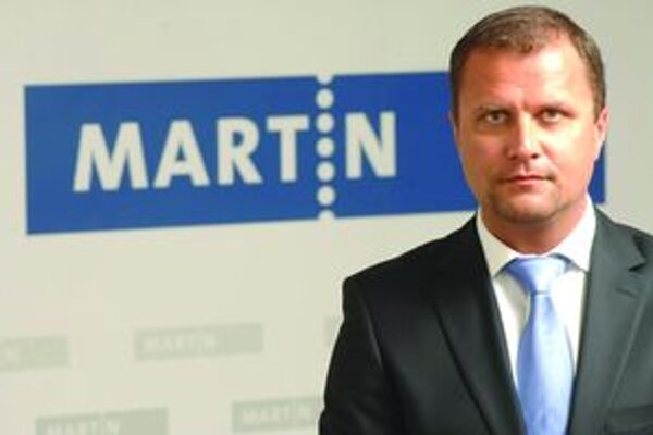 Primátor Martina Andrej Hrnčiar.