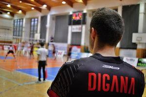 Tréner Erik Digaňa.