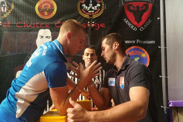 Dominik Glod (vpravo) dosiahol veľký úspech.