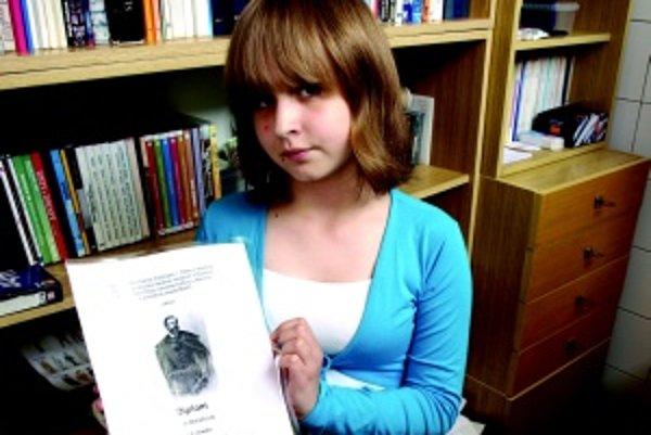 Janka Matiašová. Autorka viacerých príbehov, ktoré uverejňovala na internetovej stránke, sa umiestnila na druhom mieste v prvej kategórii.