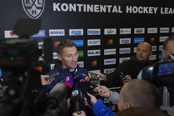 Vladimír Országh, tréner HC Slovan Bratislava.