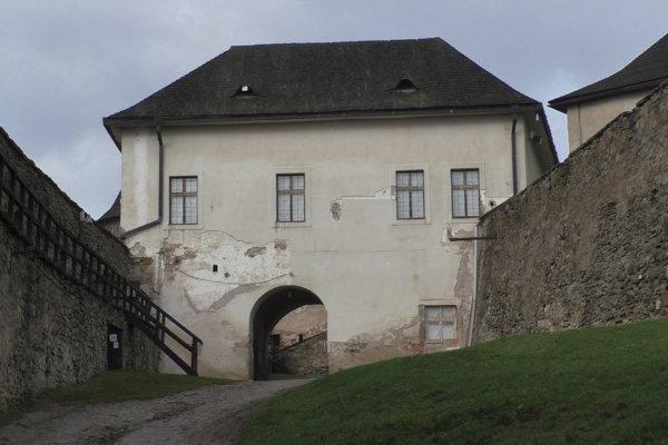 Palác Lubomírskychz obdobia baroka.