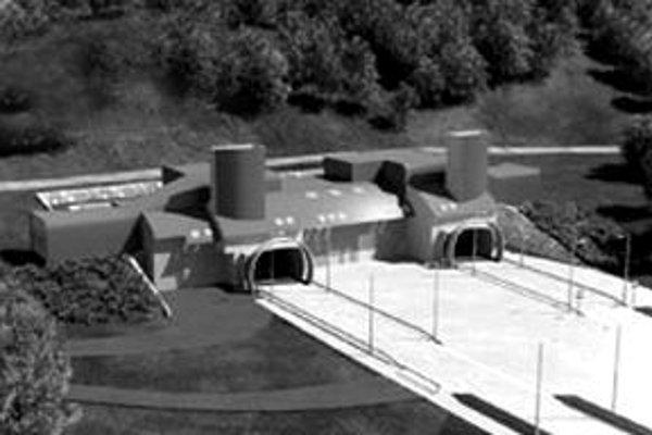 Takto by mal tunel vyzerať pri obci Višňové.