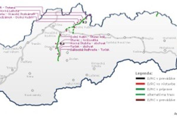 Trasa R3 má spájať Sever s juhom.