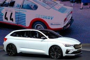 Skoda Kamiq Suv Breaks Cover At 2019 Genvea Motor Show