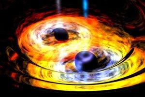 Zdrojom prvých pozorovaných gravitačných vĺn bolo spojenie dvoch čiernych dier.