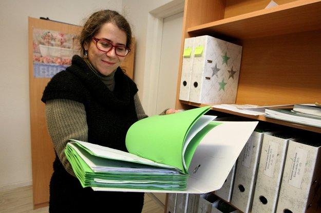 Lucia Kucejová tu pracovala ešte v čase, keď bola na dialýze. Chránené pracovisko jej umožnilo preklenúť ťažké obdobie, dnes je po úspešnej transplantácii obličky.