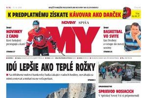 MY Noviny Spiša č. 40/2018.