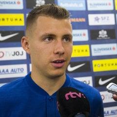 Samuel Mráz je jedným z nováčikov v reprezentácii SR.